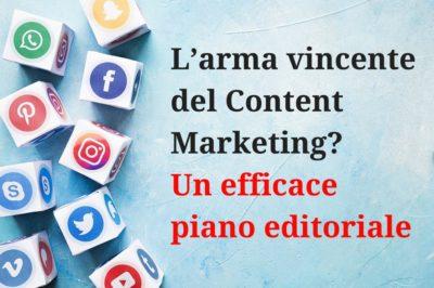Content Marketing - Un efficace piano editoriale 1