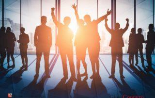Un'azienda di successo ha una squadra di venditori vincenti